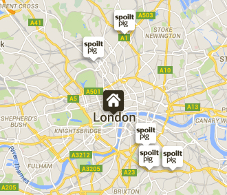 spoiltpig - Latest News - Where to find us