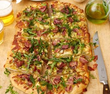 spoiltpig - Bacon recipe - Flatbread pizza