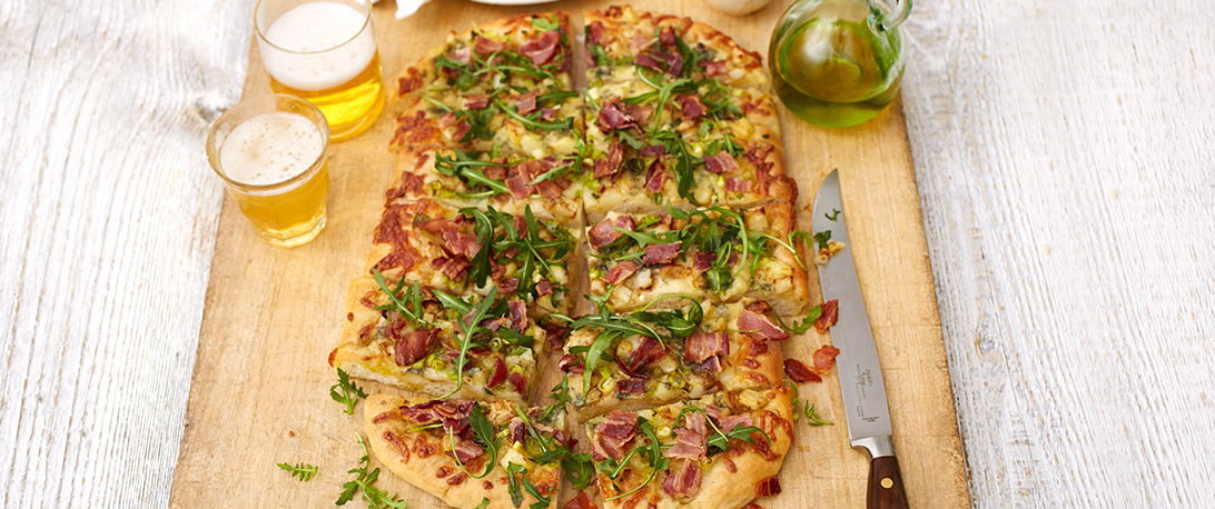 spoiltpig - Bacon recipe - Flatbread pizza