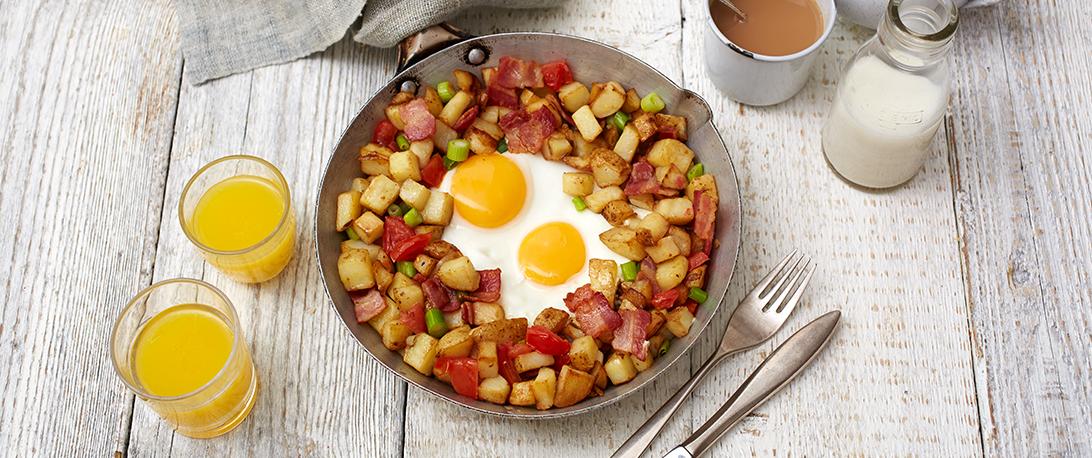 spoiltpig - Bacon recipe - One pan hash