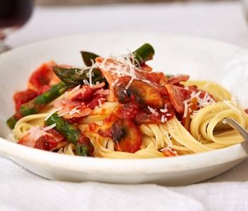 spoiltpig - Bacon recipe - Spicy bacon pasta