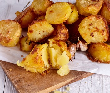 spoiltpig - Bacon recipe - Bacon with cabbage and roast potatoes