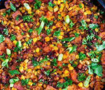 spoiltpig - Bacon recipe - Mexican polenta
