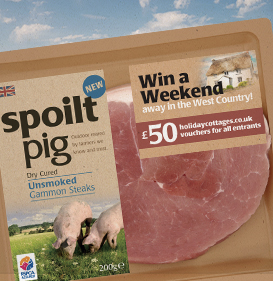 spoiltpig - Competitions - Holiday Cottages