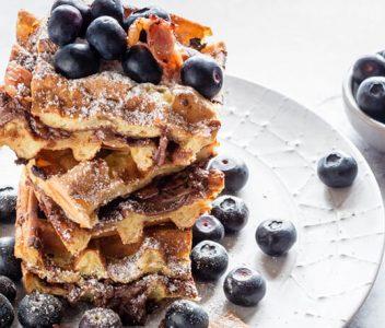 spoiltpig - Bacon recipe - Nutella and spoiltpig bacon waffles