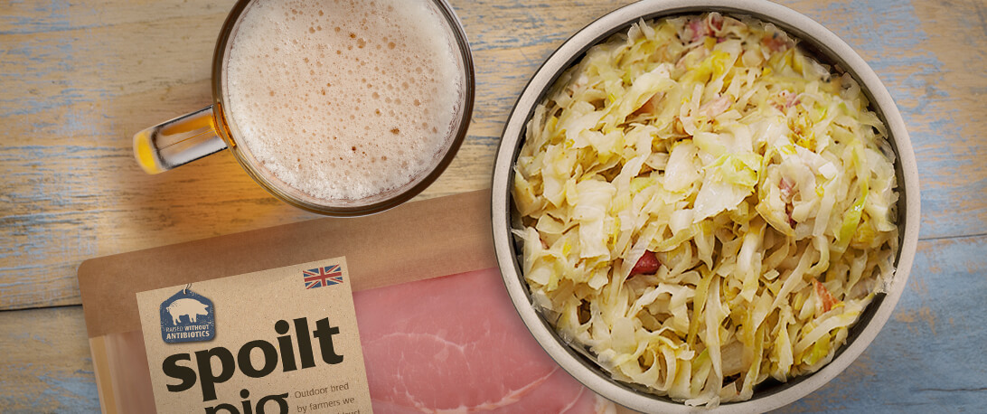spoiltpig - Bacon recipe - Sauerkraut