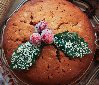 spoiltpig - Latest News - Christmas cake