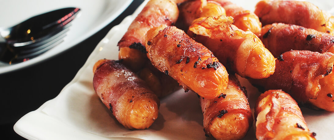 spoiltpig - Bacon recipe - Pigs in blankets