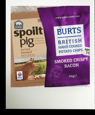 Spoiltpig Burts Chips Polaroid