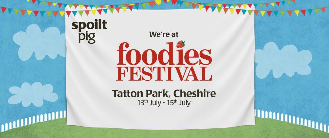 spoiltpig - Events header - Foodies Festival 2018