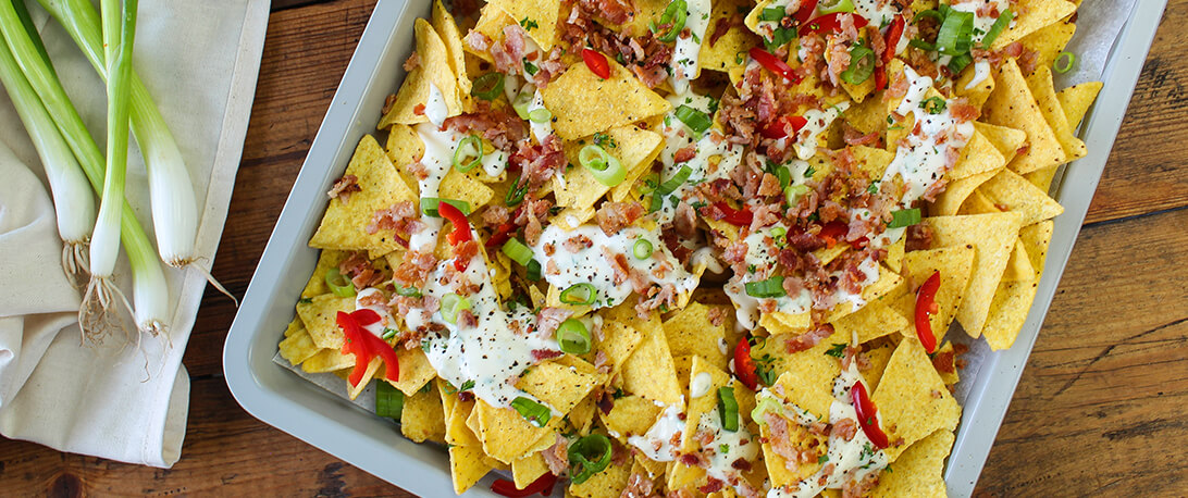 spoiltpig - Bacon recipe - Fully loaded nachos